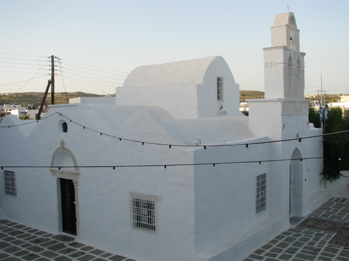Church in Plaka of Milo