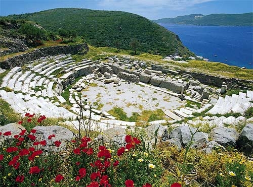 Ancient Roman Theatre of Milos